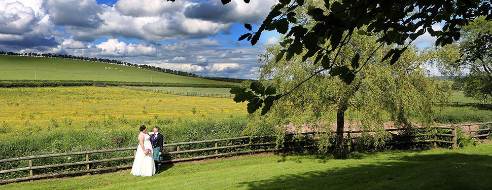 Lisa and Pete's wedding at Dalduff Farm