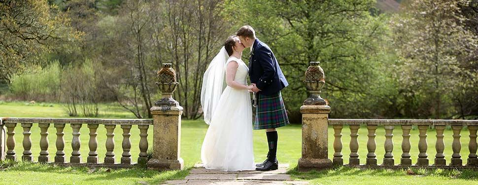 The wedding of Alyson and Dean at Culcreuch Castle