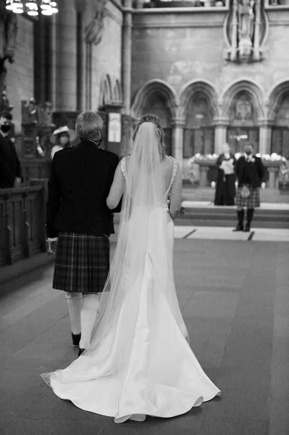 Adam and Emma's Wedding at University of Glasgow