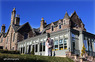 Emma and Chris's wedding at Cromlix house hotel