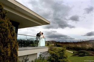 Amanda and Mark's wedding photography at Lochside House hotel