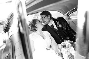 Fiona and Ewan's wedding photography at Cottiers, Glasgow