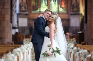 Wedding photography of Gillian and Jonathan's wedding at Radstone Hotel