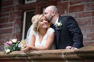 Wedding Photography of Gillian and Scott at Boclair House