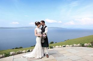 Jessica and Colin's wedding at The Craw in Arran