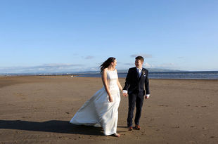 Louise and Andy's Wedding photography at Lochgreen House hotel, Troon