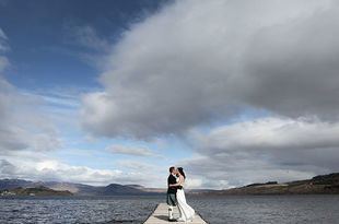Suzanne and Jamie's wedding photography The Cruin, Loch Lomond