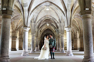 Julie and Gary's wedding at University of Glasgow and House for an Art Lover