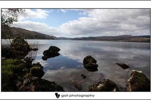 Wedding photography at Loch Awe