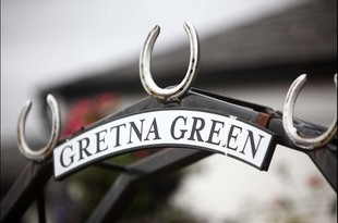 Wedding photography at Gretna Green and Loch Lomond - Ben and Charity